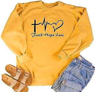 MK Shop 限量女士信念希望爱字母印花运动衫休闲假日套衫上衣