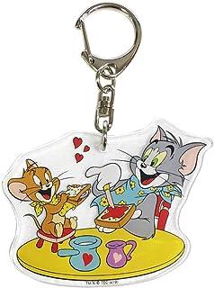 Tom和Jerry亚克力钥匙圈1903 ランチ WBJR761