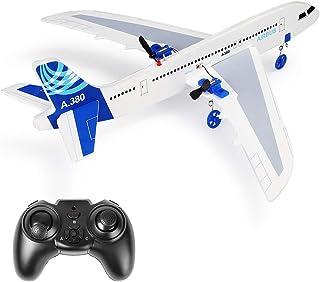 YSTFLY 遥控飞机 A380 DIY 模型飞机,2.4Ghz RTF 遥控飞机准备飞行,遥控飞机适合儿童和初学者