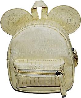 Moonlitt 迷你老鼠耳朵背包幼儿书包便携式旅行单肩背包适合小女孩