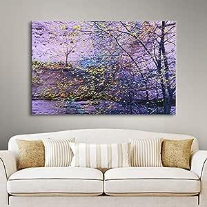 ArtWall Dean Uhlinger 'Aravaipa Canyon Dusk' Gallery-Wrapped Canvas Artwork, 16 by 24-Inch