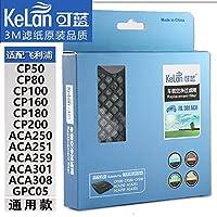 适配飞利浦车载空气净化器过滤网 ACA301/CP100 251 3M加强版 通用滤网