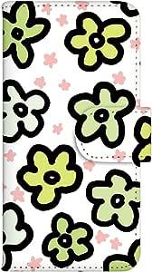 智能手机壳 手册式 对应全部机型 印刷手册 cw-008top 套 手册 花朵图案 UV印刷 壳WN-PR176344-MX Galaxy S7 SM-G930F 图案C