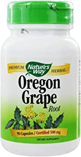 oregon Grape root,500 mg,90 capsules - nature's way - qty 1