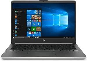 *新款 HP 14 英寸 FHD IPS 高级商务笔记本电脑 | 英特尔四核 i5-1035G4 *高可达 3.7GHz | 4GB RAM | 128GB SSD | 背光键盘 | WiFi | HDMI | USB-C | 蓝牙 | Windows 10