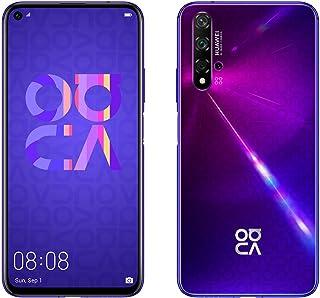 "Huawei Nova 5T 128GB 6.26"" LCD Display Smartphone with 48 MP Camera, 6GB RAM, SIM-Free Android 9.0, EMUI 9.1, Single Sim, (Midsummer Purple) UK Version"