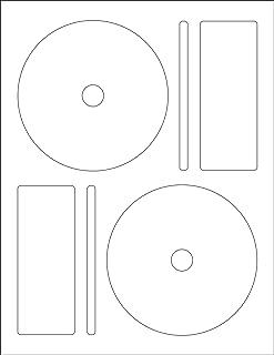 Memorex CD/DVD 标签,每页 2 张 50 Labels (25 Sheets)
