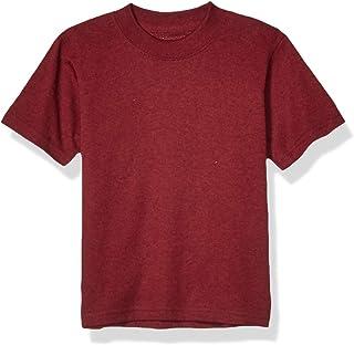 Soffe 男孩大码针织 T 恤,栗色,L 码