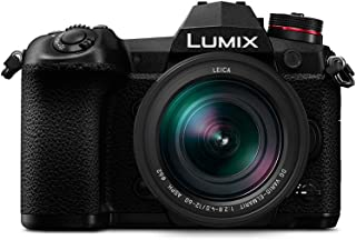 Panasonic 松下 Lumix DC-G9LEB-K 12-60毫米徕卡 DG 镜头无反微单系统相机 - 黑色