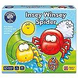 Orchard Toys 桌面游戏 INSEY棉绒布蜘蛛