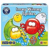 Orchard Toys 桌面游戏 INSEY棉绒布蜘蛛(亚马逊进口直采,英国品牌)