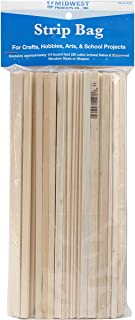 Midwest Products Project Woods Balsa & Basswood Strip 经济包 不适用 23