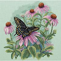 Dimensions Needlecrafts Counted Cross Stitch, Butterfly And Daisies