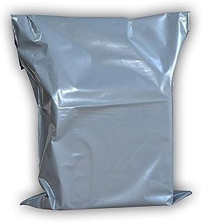 灰色邮寄包裹,快递邮寄袋塑料邮寄 17 x 22'' - Pack of 50