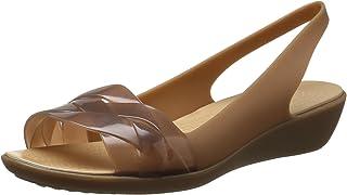 crocs 女式伊莎贝拉露跟平底鞋