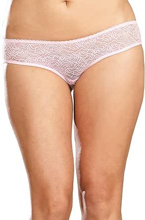 Dreamgirl Women's Ruffle Back Open Crotch Panty 粉红色 3X / 4X