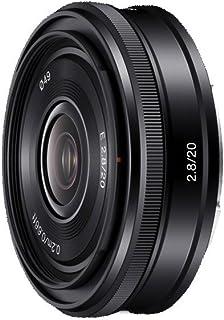 sony sel-20f28.ae séries alpha nex objectif - 20mm grand angle f2.8 noir