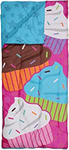 3C4G Jumbo Cupcake Reversible Sleeping Bag, Patchwork