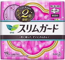 乐而雅 零触感 超丝薄特长日用25cm 卫生巾19片(进口)