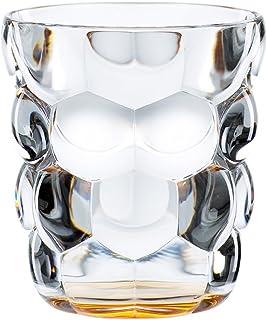 镜像伊伦 & 之夜人2件套通用杯 - 套装, 玻璃, 315毫升, 泡沫, 蓝色, 100696 橘色 9 x 9 x 10.1 cm