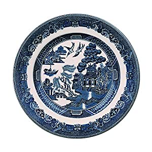 "Johnson Brothers Willow Blue Bread & Butter Plate, 6"", Blue"