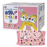 Chip & 貼紙 純水99% 手?貼布 60張×20個 (1200張) 日本制 不含防腐劑