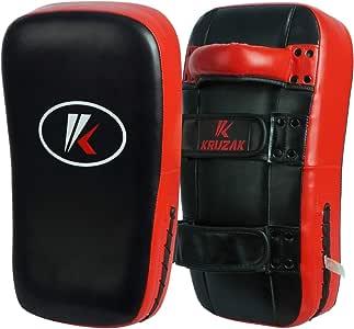 Kruzak Muay 泰拳踢腿垫适用于训练、踢击、武术、Taekwondo、泰拳、泰拳、MMA、空手道