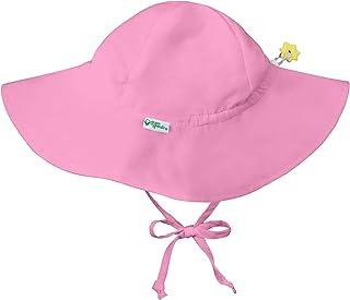 i play green Sprouts 男婴帽檐帽 | 全天 UPF 50+ *保护,适用于头部、颈部、*  浅粉色 2-4T