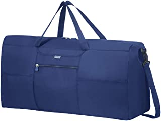 Samsonite Global Travel Accessories Foldable Travel Duffle XL, 70 cm, Blue (Midnight Blue)