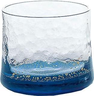 东洋佐佐木玻璃 日本酒杯 蓝色 130ml 江户硝子 八千代窑 杯 日本制造 10790