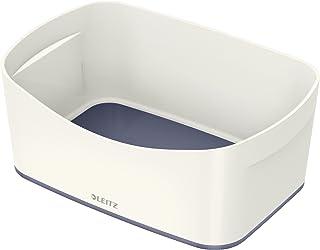 Leitz MyBox 带盖储物盒 大号 不透明 Aufbewahrungsschale Große Aufbewahrungsschale 白色