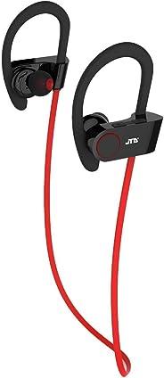 JTD 高级无线蓝牙 4.1 耳机降噪轻便防汗耳机带麦克风,非常适合运动、跑步、健身、锻炼-无线蓝牙耳塞耳机JTD-BTSH-2R