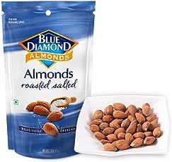 Blue Diamond 蓝钻石 盐烤风味扁桃仁110g(美国进口)(美国进口)