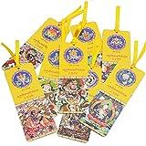 藏传佛教八宝吉祥汉藏双语书签 出国旅游送朋友小礼品 西藏法物流通纪念品