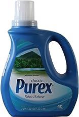 Purex 普雷克斯 衣物柔软剂(山野微风)2.95L(美国进口大容量 衣物护理柔顺剂 持久芳香 消除静电)(亚马逊自营商品, 由供应商配送)
