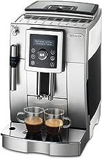 De'Longhi 德龙 全自动咖啡机ECAM23.420.SW 银白 ( 数字显示屏 可视化操作)