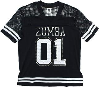 Zumba 宽松舞蹈健身活动锻炼上衣带施华洛世奇水晶