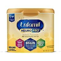 Mead Johnson 美赞臣 Enfamil 铂睿 NeuroPro婴幼儿成分—为大脑提供营养—可重复使用的奶粉,20.7盎司,1.29磅(约586.83克)