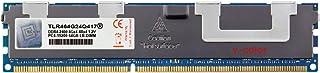 V-Color 64GB (1 x 64GB) 288-Pin DDR4 2400MHz (PC4-19200) 荷载 DIMM 带散热器的 1.2V CL17 4Rx4 四列服务器内存内存内存内存模块* (TLR464G24Q417)