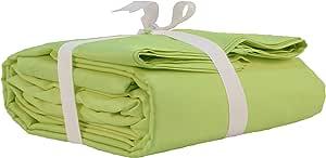 LINENWALAS 400 支床单套装 橄榄绿 King US_BED_252-K