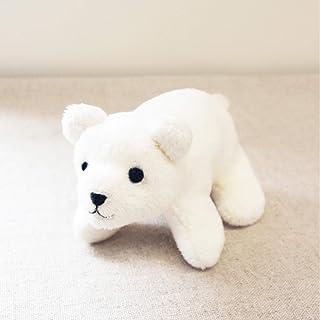 清原 KIYOHARA Chic Smile 白熊毛绒玩具捏捏套装 宽7厘米×高6.5厘米×长11.5厘米 CHIC-002