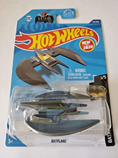 Hot Wheels 2020 蝙蝠侠蝙蝠侠飞机 灰色 56/250