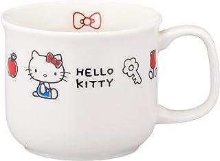 金正陶器 儿童水杯 白色 7.5cm 凯蒂猫 EVERDEY 马克杯 311112