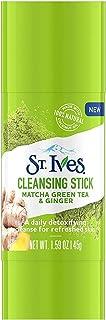 St. Ives Detox Me 日常洁面棒,抹茶绿茶和生姜,1.6盎司(约455克),12支装