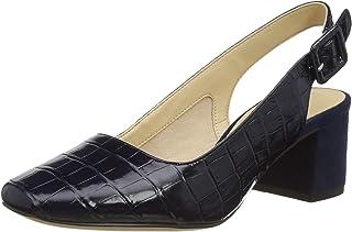 Clarks 女士 Sheer Violet 露跟高跟鞋