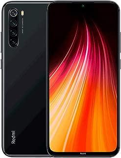 """小米 Redmi Note 8 64GB + 4GB 内存,6.3"""" LTE 48MP 工厂解锁 GSM 智能手机 - 国际版M1908C3JG 太空黑色"""