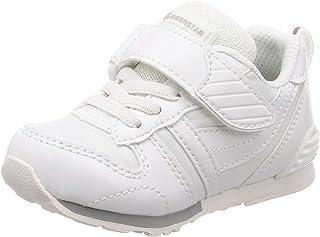 [MOONSTAR 月星] 运动鞋 上学用鞋 4大功能 魔法 轻量 儿童 MS C2121PL 白色 18.0 cm 2E