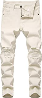 FREDD MARSHALL 男童修身弹力时尚牛仔裤裤
