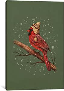 """iCanvasART 1 Piece First Snow Portrait #1 Canvas Print by Terry Fan, 40"""" x 26""""/0.75"""" Depth"""