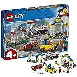 6月新品LEGO乐高城市组系列60232汽车服务站小颗粒积木